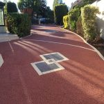 allee entree beton drainant les andelys